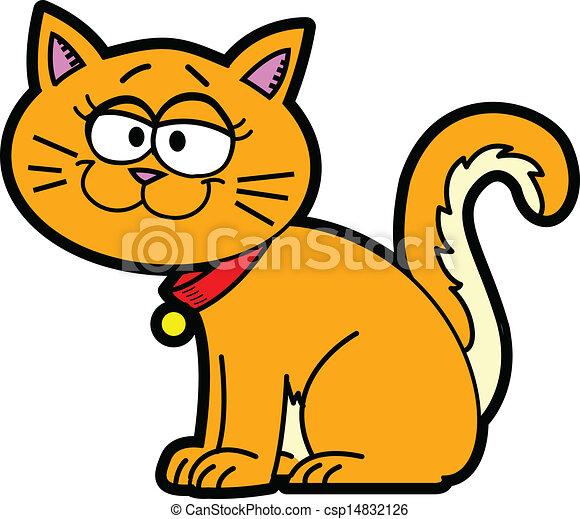 Cartoon Cat - csp14832126