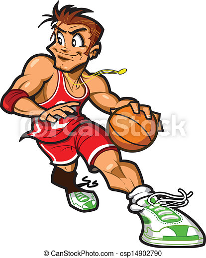 Caucasian Basketball Player - csp14902790