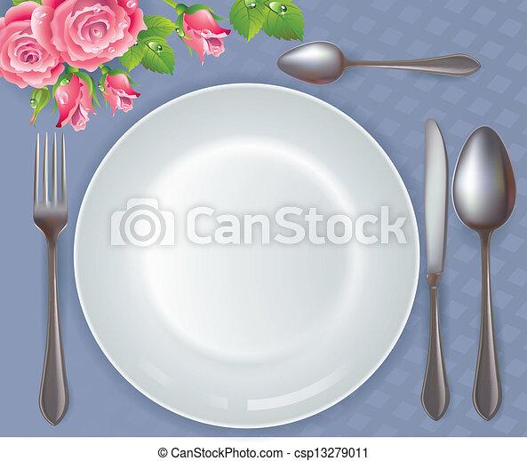 Celebratory tableware - csp13279011