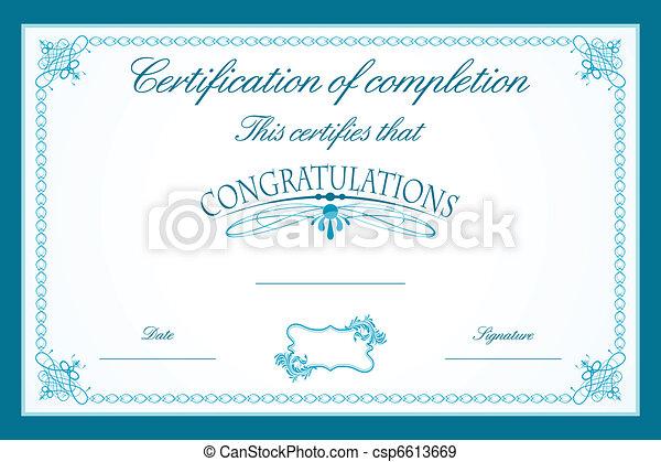 Certificate Template - csp6613669