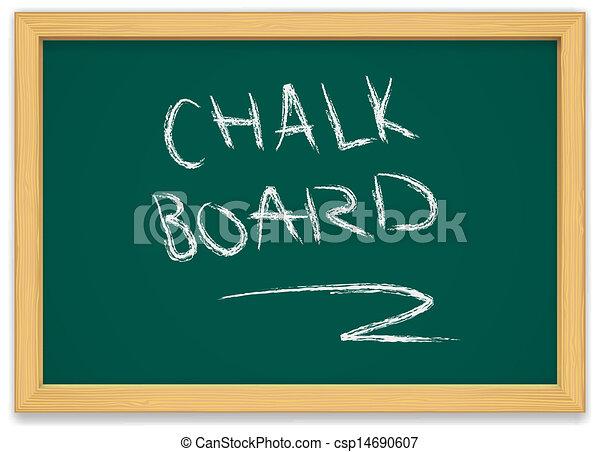 chalk board - csp14690607