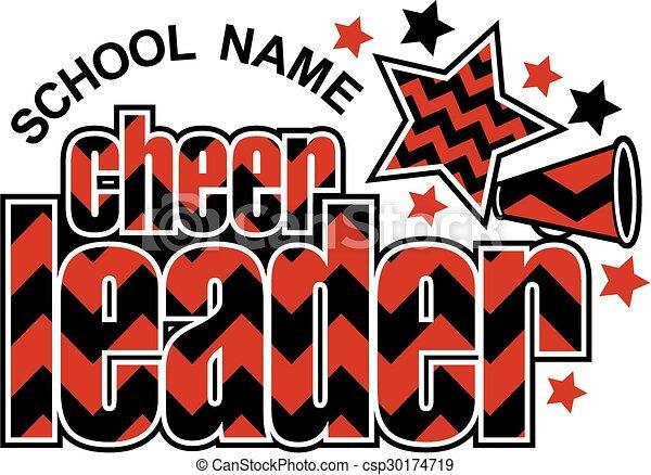 cheerleader chevron design - csp30174719