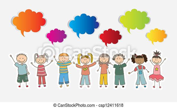 Children - csp12411618