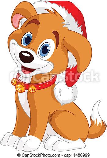 Christmas dog - csp11480999