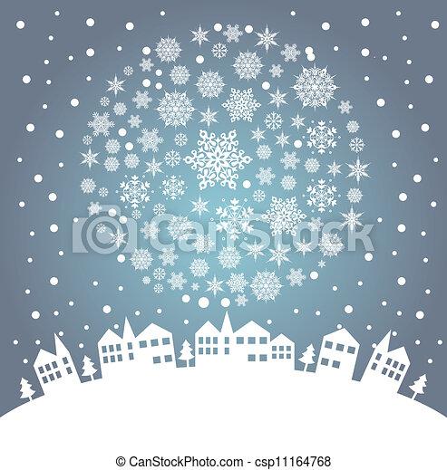 christmas greeting card - csp11164768