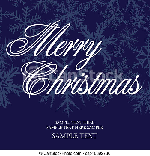 christmas greeting - csp10892736