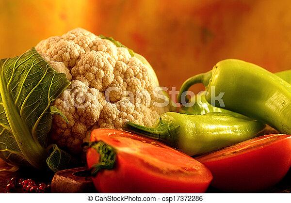 Colorful fresh vegetables. - csp17372286