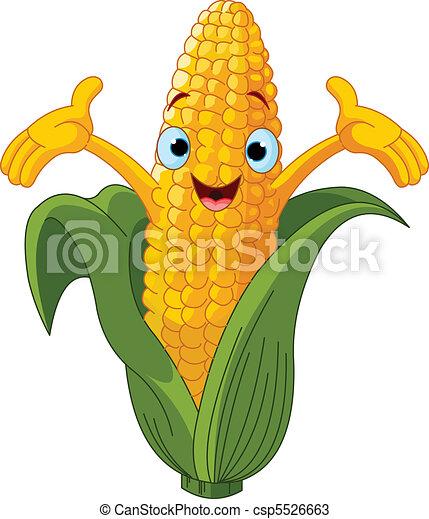 Corn Presenting Somethin%u043F - csp5526663