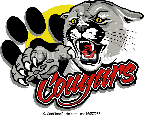 cougar with claw - csp16557785
