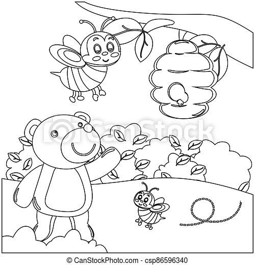 Creative vector childish Illustration. - csp86596340