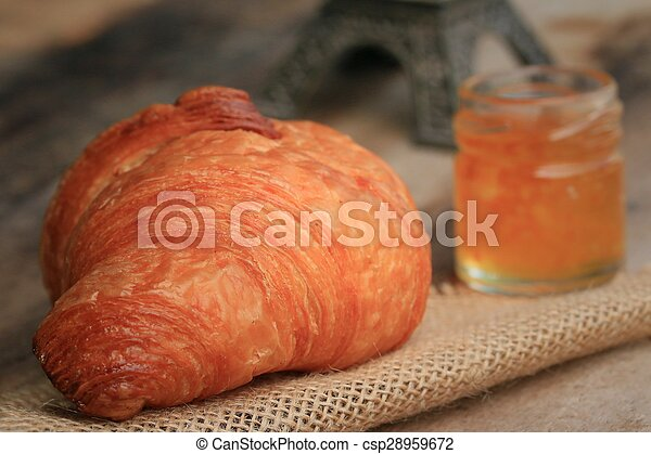 Croissant Bread - csp28959672
