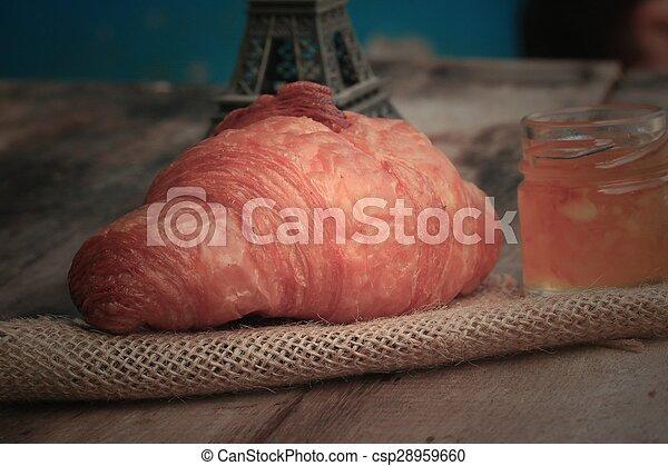 Croissant Bread - csp28959660