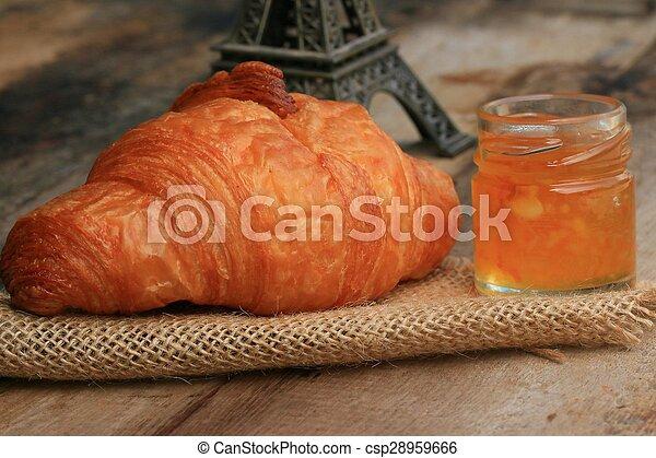 Croissant Bread - csp28959666