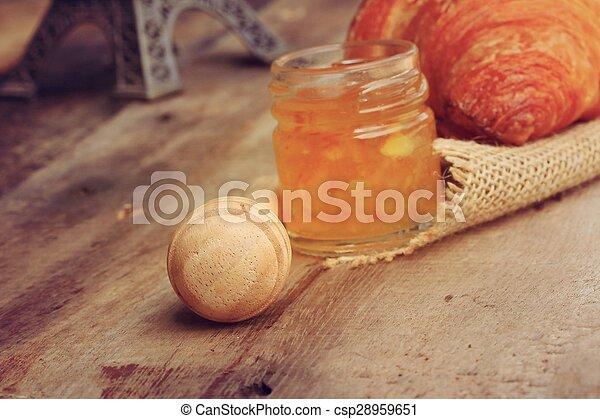 Croissant Bread - csp28959651