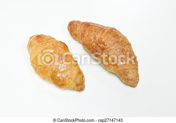 Croissant bread - csp27147143