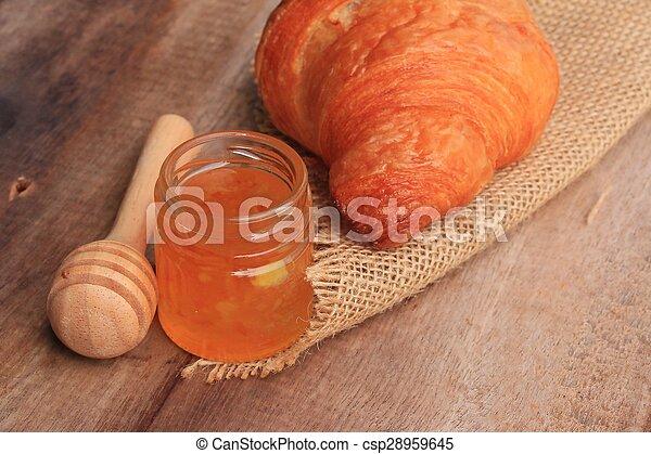 Croissant Bread - csp28959645
