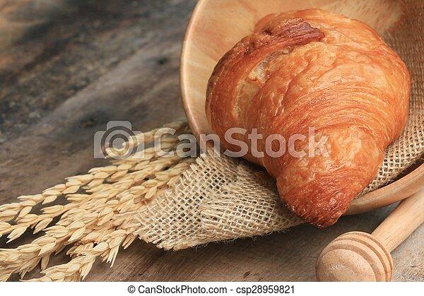Croissant Bread - csp28959821