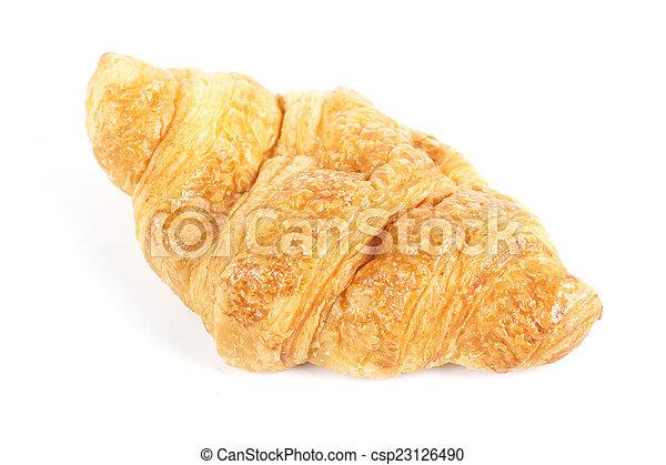 croissant bread - csp23126490
