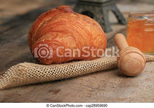 Croissant Bread - csp28959690