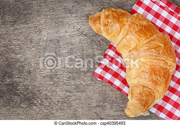 Croissant Bread - csp40395493
