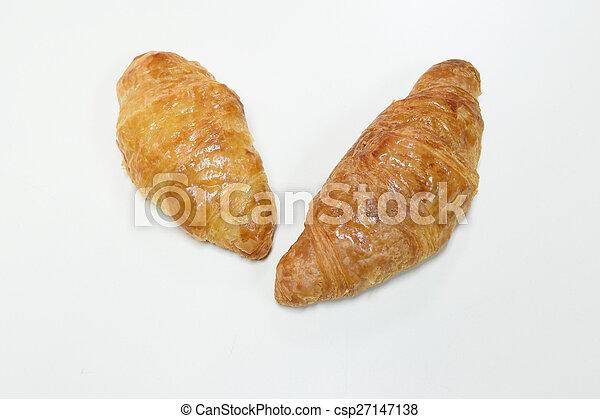 Croissant bread - csp27147138