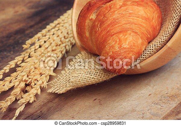 Croissant Bread - csp28959831