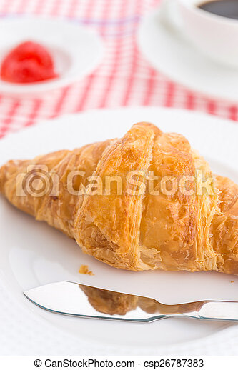 Croissant - csp26787383