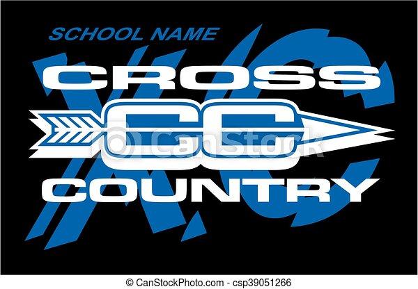 cross country - csp39051266