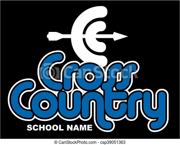 cross country - csp39051363