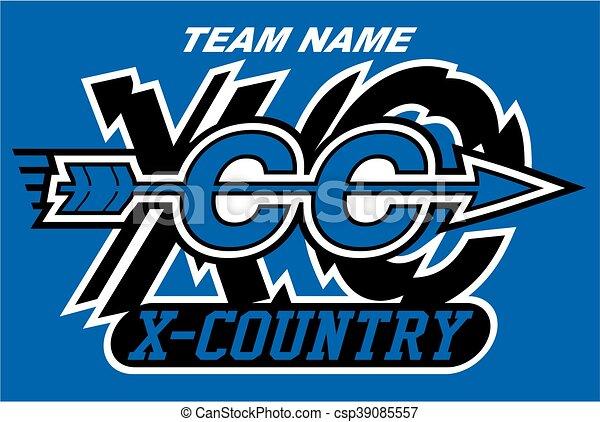 cross country - csp39085557