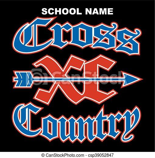 cross country - csp39052847
