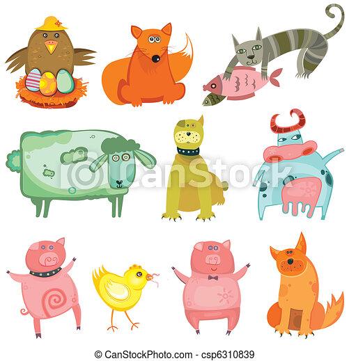 Cute animals - csp6310839