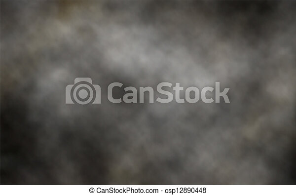 Dark smoke background - csp12890448