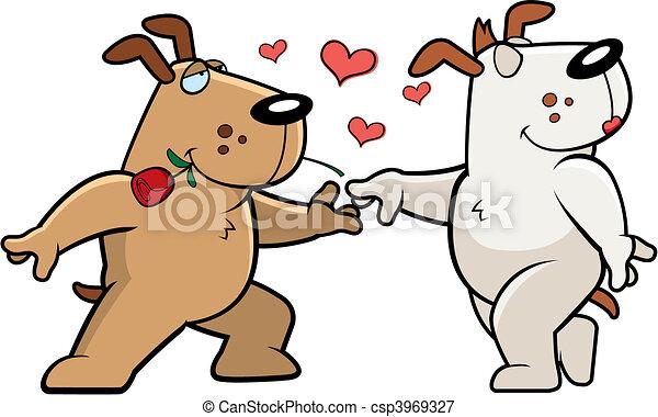 Dog Romance - csp3969327