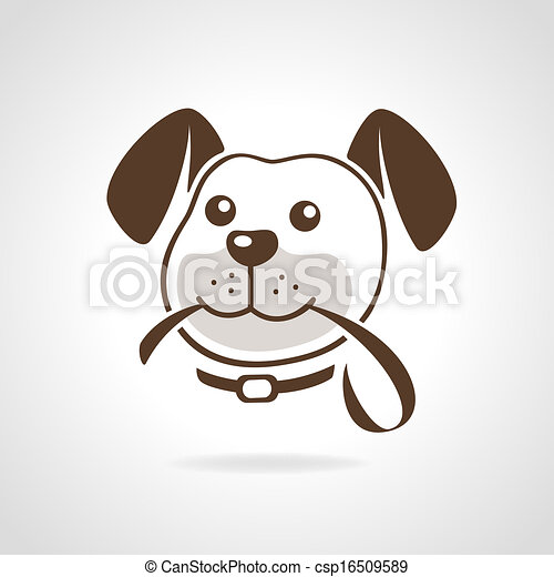 dog with leash - csp16509589
