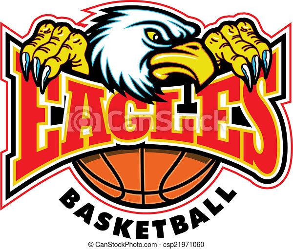 eagles basketball design - csp21971060