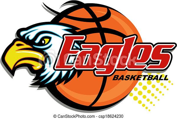 eagles basketball - csp18624230