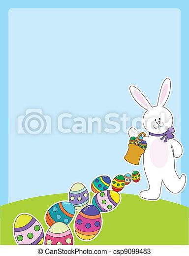 Easter Egg Hunt - csp9099483