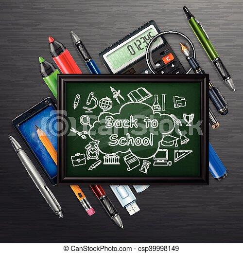 Education concept. Blackboard - csp39998149