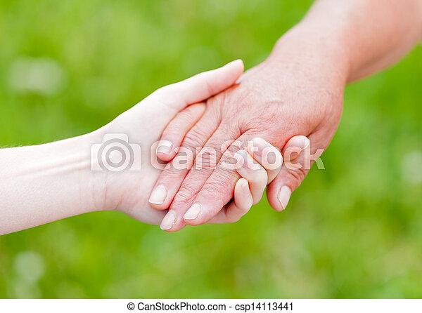 Elderly care - csp14113441