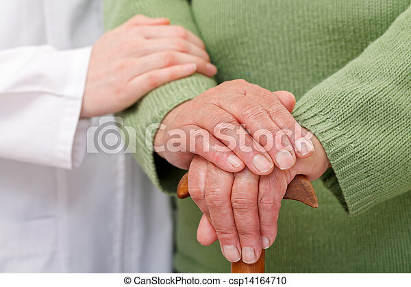 Elderly home care - csp14164710