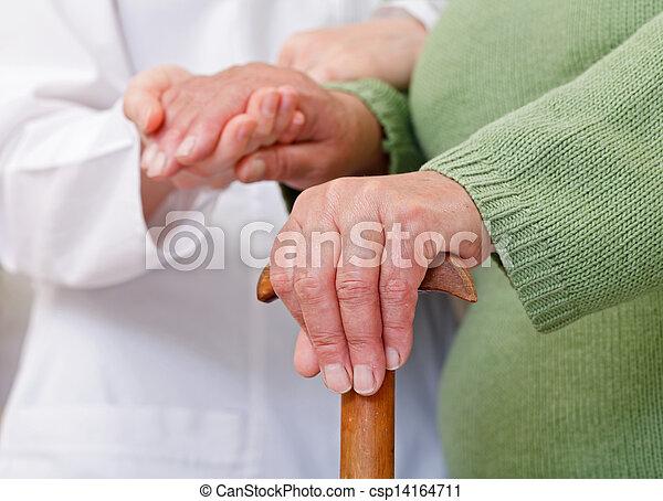 Elderly home care - csp14164711