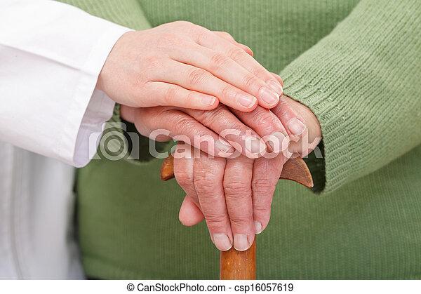 Elderly home care - csp16057619
