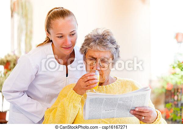 Elderly home care - csp16167271