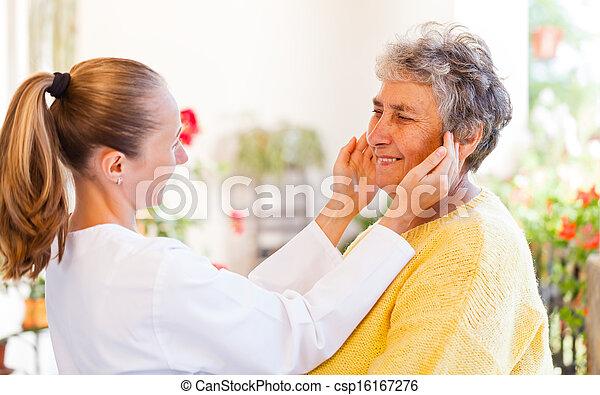 Elderly home care - csp16167276