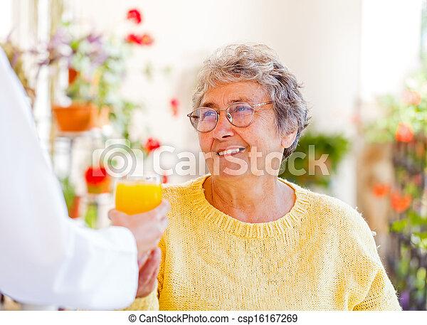 Elderly home care - csp16167269