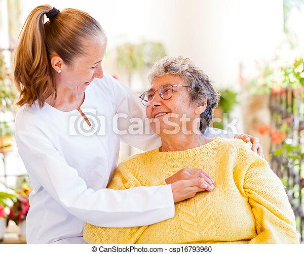 Elderly home care - csp16793960