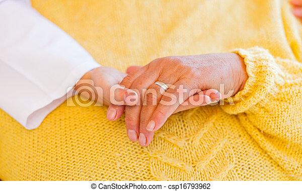 Elderly home care - csp16793962
