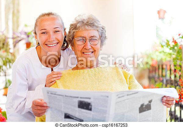 Elderly home care - csp16167253