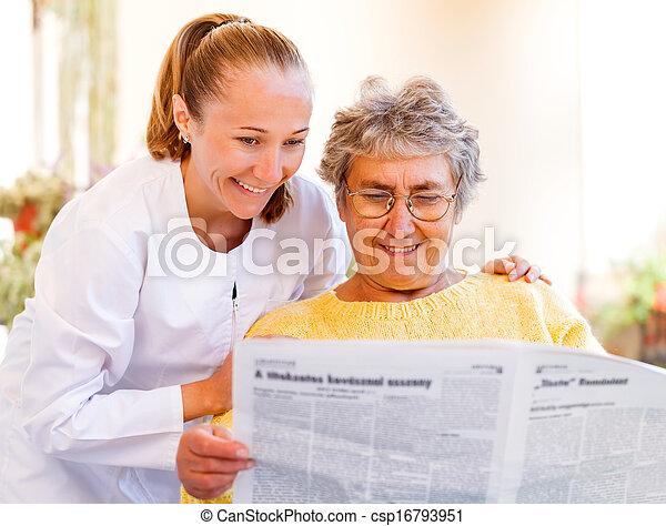 Elderly home care - csp16793951